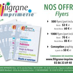 Nos offres - Flyers
