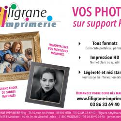 Vos photos sur support PVC